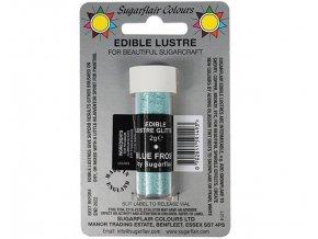 jedla prachova glitterova barva sugarflair 2 g blue frost