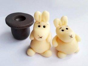 Jedlá dekorace: králíci Bob a Bobek