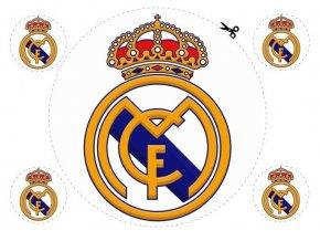 Obrázek na jedlém papíru: Real MADRID
