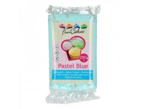 funcakes potahovy fondan pastel blue modra 250g