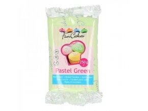 funcakes potahovy fondan pastel green zelena 250g