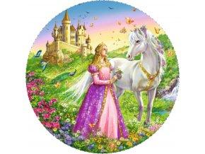 Obrázek na jedlém papíru: princezna