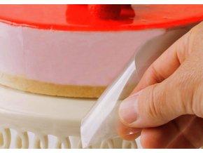 Fólie na oddělování dezertů a food styling, šíře 25 mm