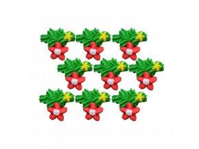 cukrova vanocni dekorace platicko 1