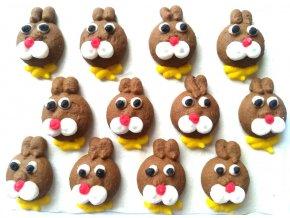 Cukrová velikonoční dekorace: zajíček