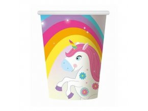 unicorn cup 8pcs 266ml