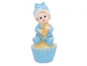figurka kluk v na muffinu