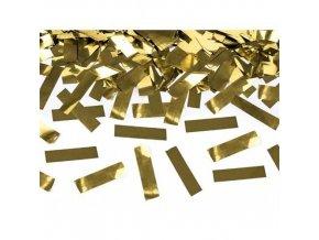 Vystřelovací konfety zlaté - 40 cm