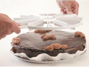 Naznačovač porcování dortů, 8 porcí