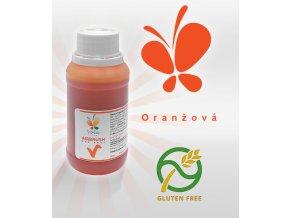 3743 barva tekuta cukrarska airbrush af oranzova 45 ml lahvicka