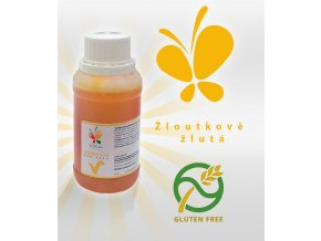 3755 barva tekuta cukrarska airbrush af zloutkova zlut 45 ml lahvicka