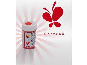 3845 barva v prasku do tuku do cokolad cervena 3 g doza