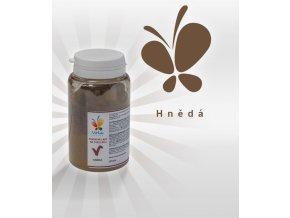 3851 barva v prasku do tuku do cokolad hneda 25 g doza