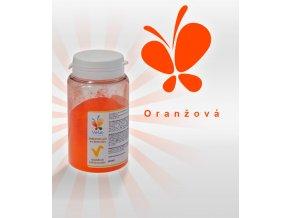 3857 barva v prasku do tuku do cokolad oranzova 25 g doza