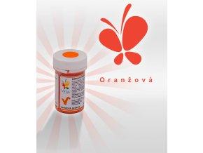 3860 barva v prasku do tuku do cokolad oranzova 3 g doza