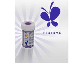 3884 barva v prasku do tuku do cokolad af fialova 3 g doza