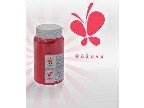 3896 barva v prasku do tuku do cokolad af ruzova 25 g doza