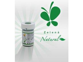3926 barva v prasku natural line prirodni zelena 5 g kelimek