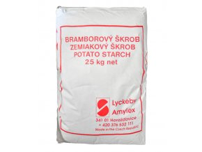 47 bramborovy skrob 25 kg pytel