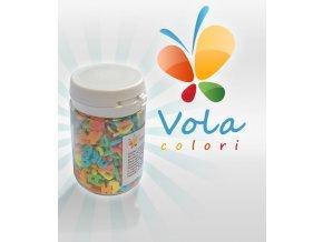 3083 cukrova pismenka 8mm barevna 40 g doza
