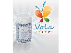 3266 cukrove perly ryzove 4mm perletove svetle modre 50 g doza
