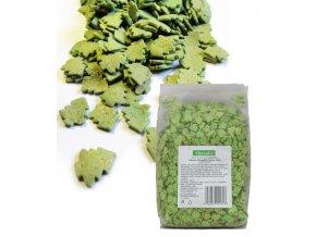 3617 cukrove stromecky 10mm zeleno zlate 0 500 kg sacek