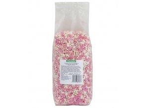 3428 cukrovy mix ruzovo bily 1 kg sacek