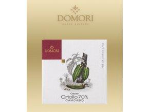 2369 cokolada domori criollo canoabo 70 tabulka 25g