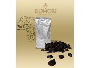 2447 cokolada domori vidama pobrezi slonoviny 60 horka pecky 1 kg sacek alu