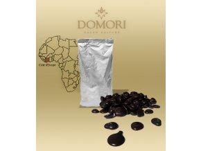 2453 cokolada domori vidama pobrezi slonoviny 66 horka pecky 1 kg sacek alu