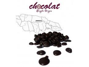2495 cokolada horka single origin jamajka 72 pecky 1 kg sacek alu