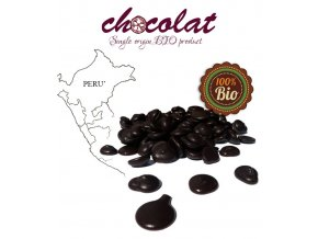 2513 cokolada horka single origin peru bio 63 pecky 1 kg sacek alu