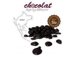 2516 cokolada horka single origin peru bio 63 pecky 10 kg karton