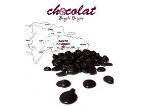 2519 cokolada horka single origin santo domingo 70 pecky 1 kg sacek