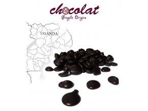 2525 cokolada horka single origin uganda 73 pecky 1 kg sacek alu