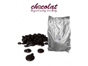 2285 cokolada chocolat horka 70 pecky 5 kg sacek alu