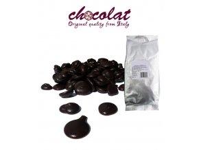 2288 cokolada chocolat horka 73 pecky 1 kg sacek alu