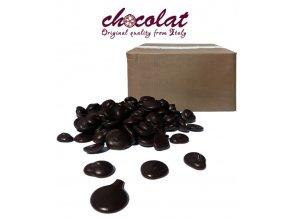 2297 cokolada chocolat horka labo 70 pecky 12 kg karton