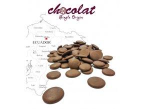 2300 cokolada chocolat mlecna 36 universo pecky 1 kg sacek alu