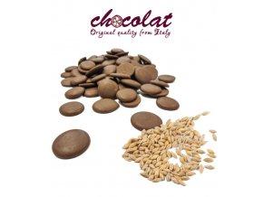 2309 cokolada chocolat mlecna extra 37 s cerealiemi pecky 1 kg sacek alu