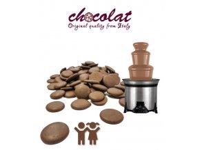 2543 cokolada mlecna extra children i do fontan 36 38 pecky 5 kg sacek alu