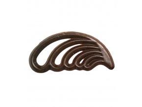 2765 cokoladove filigrany pirko v 5 4 cm horke 500 ks bal 650g