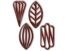 2777 cokoladove filigrany special 4 tvary v 5 5cm horke 575 ks bal 650g