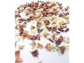 2819 cokoladove hobliny 9x5mm mix horko bily 2 5 kg bal
