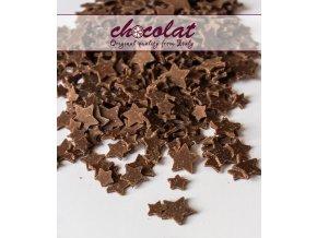 2840 cokoladove hvezdicky 9 15mm mlecne 7 kg kart