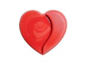 2882 cokoladove srdce hearts v 3 4cm cervene 240 ks bal 720g