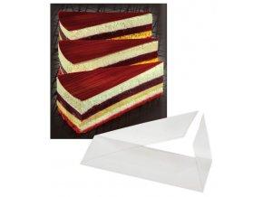 5540 dortove pasky trojuhelnikove 0 09mm 6 2x11 7cm rezane 500 ks bal