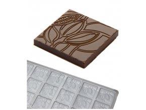 14774 forma na cokoladove neapolitanky 5g cabosse 3x6 tvaru forma