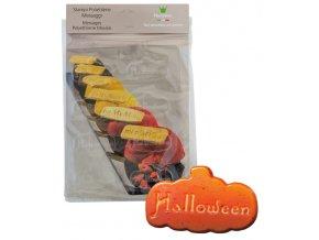 14987 forma na cokoladovy popisek pe halloween 8 tvaru forma