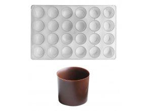 15011 forma na cokoladu kalisek 5g 6x4 tvary forma
